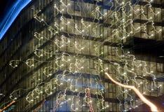 Windows βραδιού Στοκ φωτογραφία με δικαίωμα ελεύθερης χρήσης