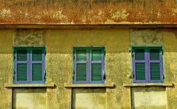 Windows γραμμών Στοκ Φωτογραφία