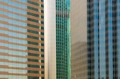 Windows γραφείων κτηρίων Στοκ Εικόνες