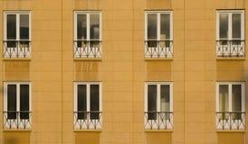 Windows γραφείων της DT της Βηρυττ στοκ φωτογραφίες
