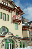 Windows και μπαλκόνι Στοκ Φωτογραφίες