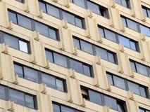 Windows ξενοδοχείων Στοκ Φωτογραφία