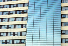 Windows ξενοδοχείων Στοκ Φωτογραφίες