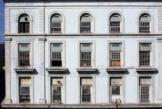 Windows της Αβάνας εργοστασίων Στοκ φωτογραφίες με δικαίωμα ελεύθερης χρήσης