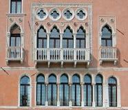 Windows της Βενετίας Στοκ εικόνες με δικαίωμα ελεύθερης χρήσης
