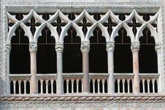 Windows της Βενετίας Στοκ φωτογραφία με δικαίωμα ελεύθερης χρήσης