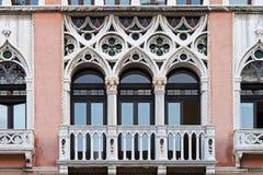 Windows της Βενετίας Στοκ Εικόνες