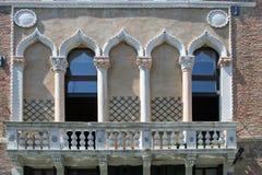 Windows της Βενετίας Στοκ φωτογραφίες με δικαίωμα ελεύθερης χρήσης