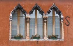 Windows της Βενετίας Στοκ Φωτογραφίες