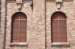 Windows τοίχων ανοιγμάτων εξαερισμού Στοκ φωτογραφία με δικαίωμα ελεύθερης χρήσης