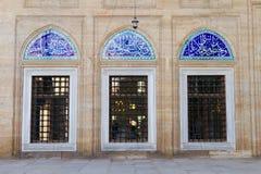 Windows του μουσουλμανικού τεμένους Selimiye Στοκ Φωτογραφίες