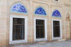 Windows του μουσουλμανικού τεμένους Selimiye Στοκ Φωτογραφία