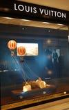 Windows του Louis vuitton στοκ φωτογραφία με δικαίωμα ελεύθερης χρήσης