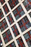 Windows высокого здания подъема стоковые фотографии rf