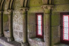 Windows в аббатстве ` s St Michael Стоковые Изображения