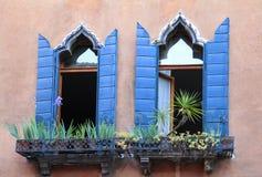 Windows в Венеции, Италии Стоковая Фотография RF