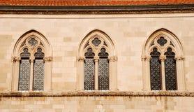 Windows в Дубровнике, Хорватии Стоковое Фото