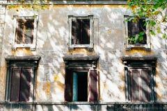 Windows в Рим стоковые фото