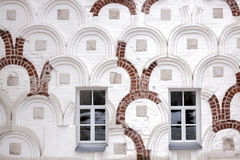 Windows в старой стене Стоковое Изображение RF