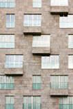 Windows и балконы Стоковое Изображение