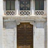 Windows и дверь Стоковые Фото