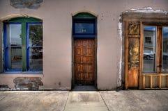 2 Windows и одна дверь Williams Аризона стоковое фото