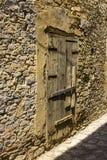 Windows и стены в деревне Lefkara Стоковое фото RF