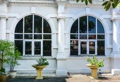 Windows музея Penang в городке Джордж, Малайзии Стоковая Фотография
