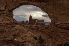 Windows - национальный парк сводов стоковое фото rf