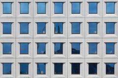 Windows офиса Maersk в Копенгагене стоковое изображение rf