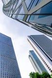 Windows офисного здания небоскреба Стоковое Изображение RF