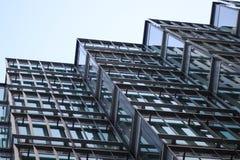Windows офисного здания стоковая фотография rf