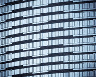 Windows офисных зданий Стоковая Фотография