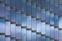 Windows. Office windows in diagonal pattern royalty free stock photo