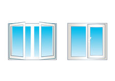 Windows. Stock Image