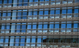 Windows. Of a business center Royalty Free Stock Photography