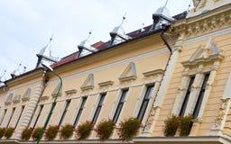 Windows. Beautiful windows in Brasov,Romania stock photos