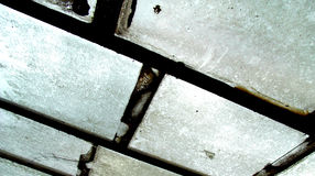 Windows 4. An photographic image of some dirty windows with some rusty window frames Royalty Free Stock Photography
