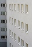 Windows. Of an apartement house Stock Photography