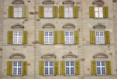 Windows. Switzerland Royalty Free Stock Image