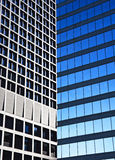 Windows. Office Buildings. Downtown of Vancouver stock images