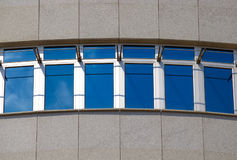 Windows. At modern building Belgrade Serbia Stock Photo