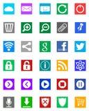 Windows 8 икон - тип метро Стоковые Изображения