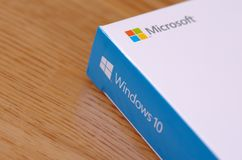 Windows 10 Photographie stock