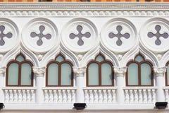 Windows al Venezia immagini stock