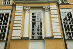 Windows ancient house Stock Photo