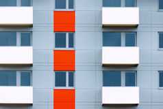 Windows And Balconies Of New Residential Building Stock Photography
