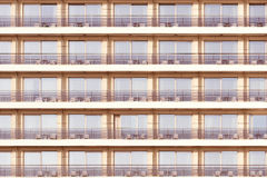Free Windows And Balconies Of The Hotel. Stock Photo - 68892110