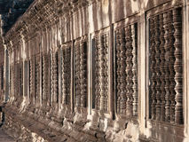 Windows at Angkor Wat, Cambodia Royalty Free Stock Photography