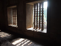 Windows in Angkor Wat in Siem Reap, Cambodia Royalty Free Stock Photo